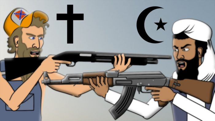 christian against muslim