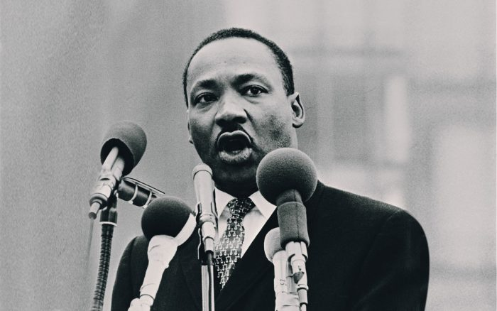 the speech by martin luther king Hundreds arrested as activists pick up where martin luther king left off the poor people's campaign kicked off 40 days of nonviolent protest on monday, reviving king's anti-poverty efforts and.